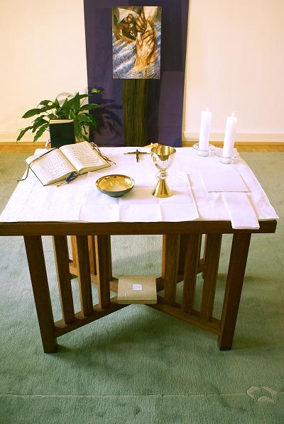 Krisen-sicher? Der Tisch des Herrn