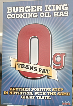 0% Trans Fat