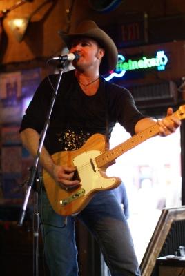 Buck McCoy playing Tim McGraw