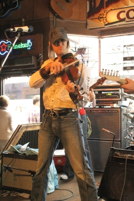 The great fiddle player