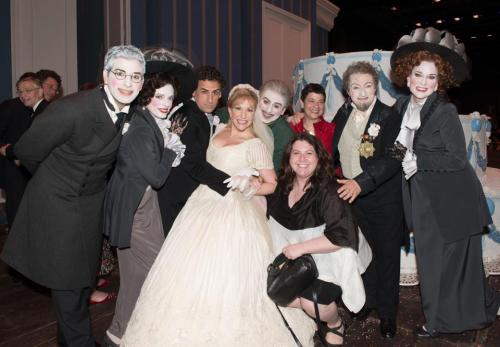 The cast of La Cenerentola at the METtropolitan Opera (Photo: Lawrence Brownlee via Joyce DiDonato)